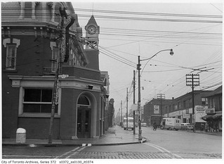 Ossington Avenue and Queen Street West