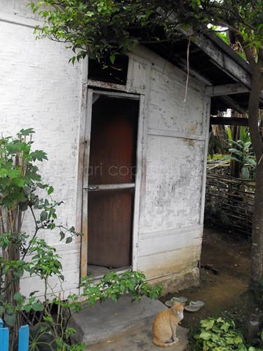 470 Gambar Rumah Bambu Bilik HD