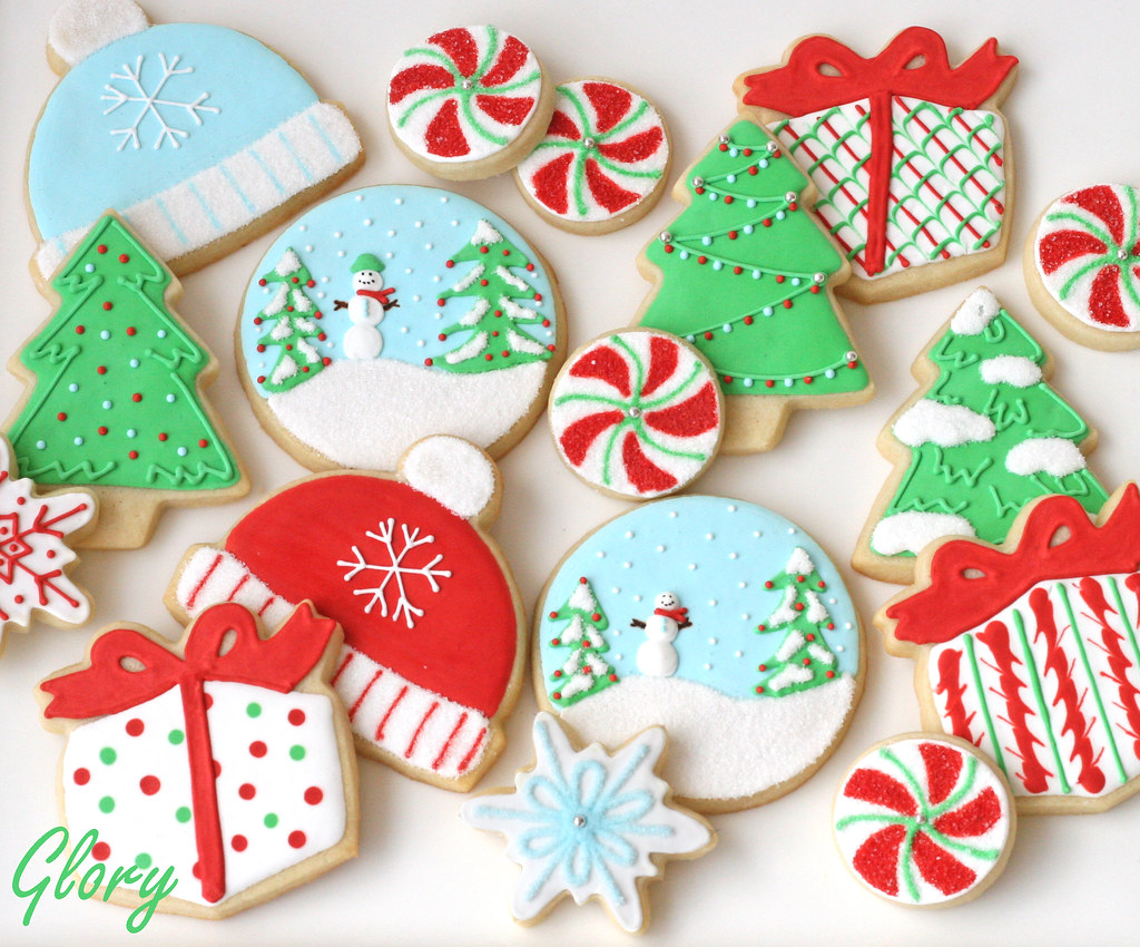 Christmas Cookie Collection Www Glorioustreats Blogspot Co Flickr