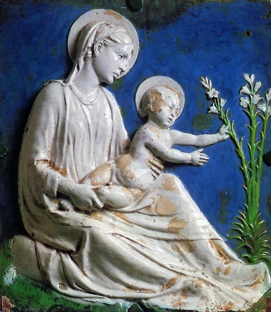 Luca della Robbia, Madonna col Bambino, detta di