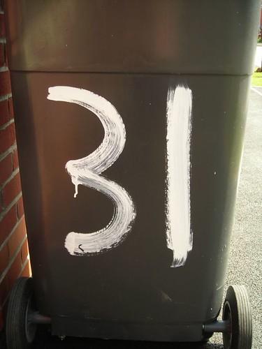 number 31 | by jontintinjordan