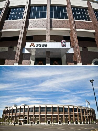 Student Section - TCF Bank Stadium
