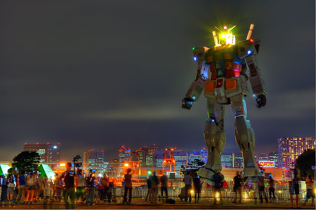 Risultati immagini per Odaiba gundam