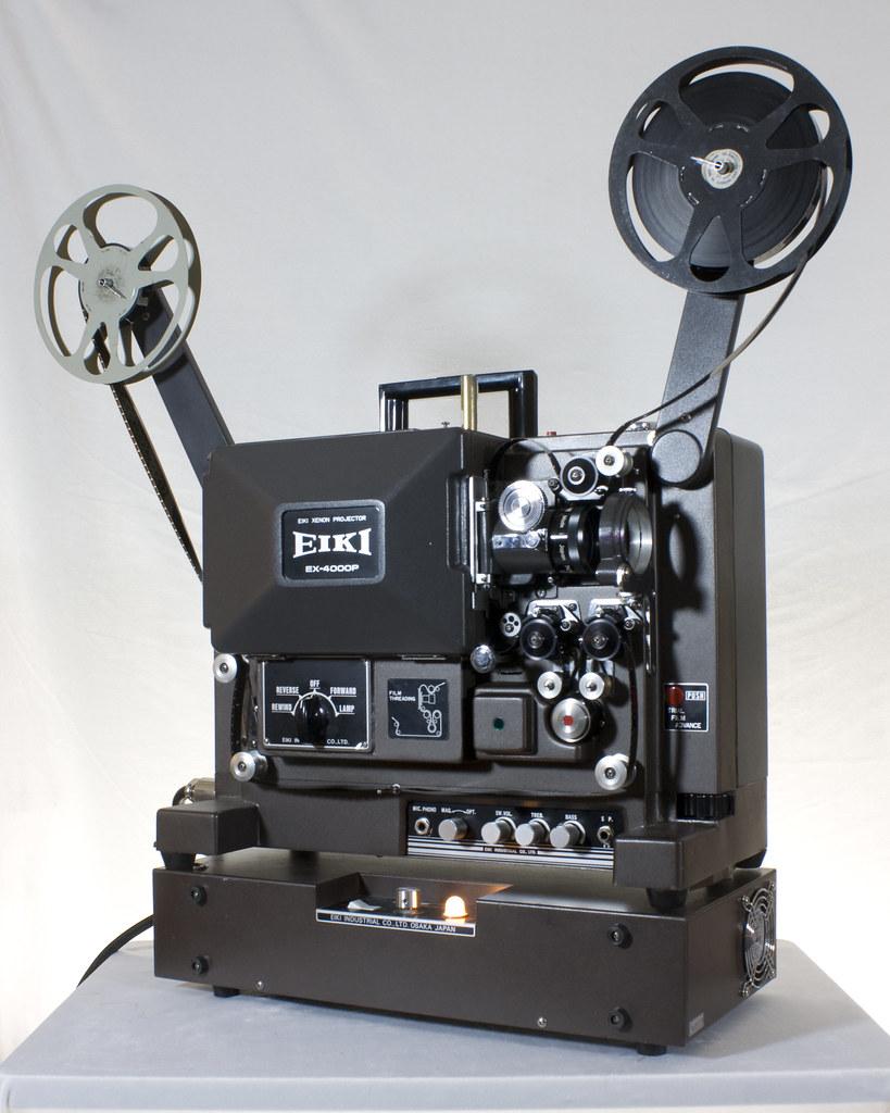 Eiki EX-4000P 16mm sound movie projector with xenon-arc la