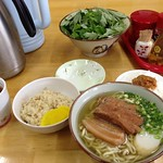 image Mix noodle and Jucie of Tamanoya