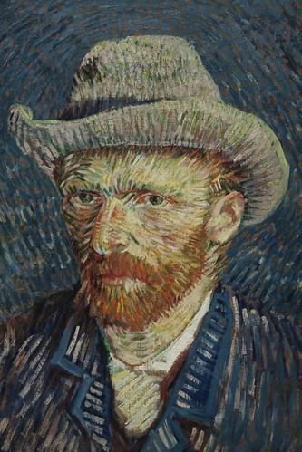 zelfportret  Vincent van Gogh 1887-1888 | by efraa
