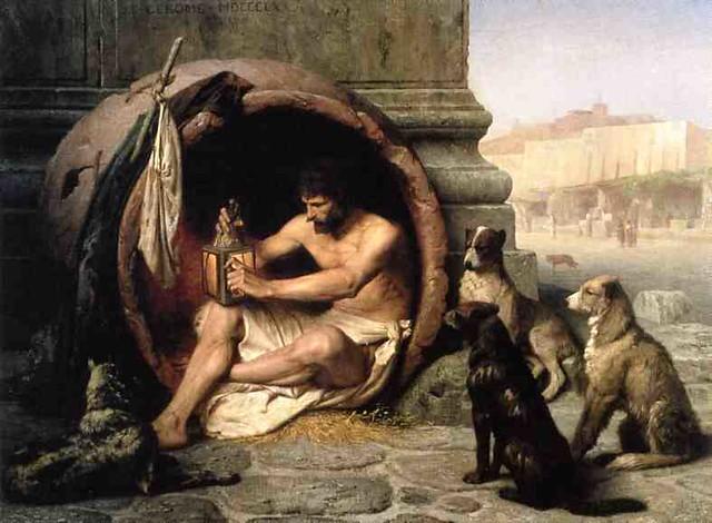 Jean-Léon Gérôme - 1860  - Diogenes - Walters Art Museum USA