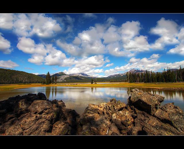 Sparks Lake, Oregon - HDR