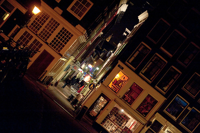 lijnbaanssteeg and singel, amsterdam
