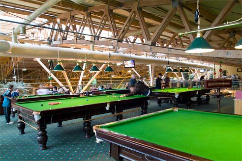 Pool Tables At Center Parcs Whinfell Forest Pool Tables An Flickr