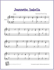 Bring a Torch, Jeannette, Isabella | Sheet Music for Easy