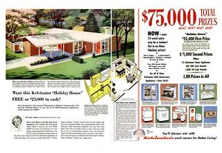 National Homes Ad - Life 1954