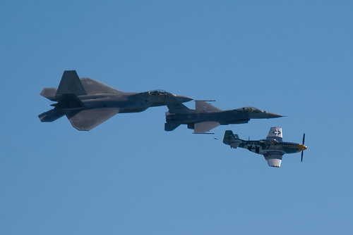 USAF Heritage Flight 4 | by cetaylor