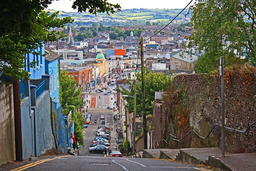Georgina Ingham | Culinary Travels A Guide to Cork, Ireland. Head up the steep Patricks Hill for a spellbinding view across the city. I might be a bit biassed but the Northside is definitely the best side.