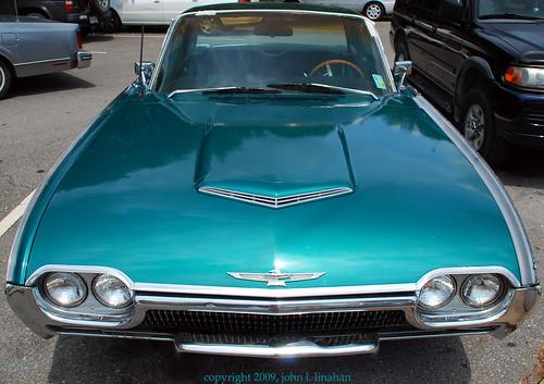 classic ford vintage nikon louisiana lafayette antique teal thunderbird 2009 tbird d60 girardpark 3775 bulletbird