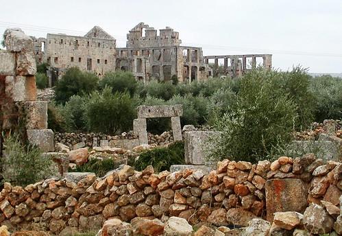 Pandocheion, St. Simeon Basilica, near Aleppo, Syria