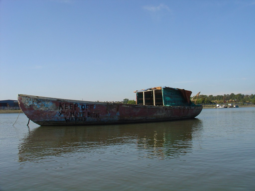 Concrete Boat   Made of concrete or something similar. State…   Flickr