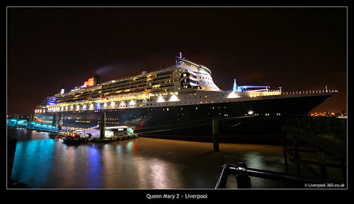 Queen Mary 2, Visits Liverpool | by york360