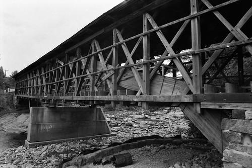 bridge bath newhampshire nh covered swiftwater