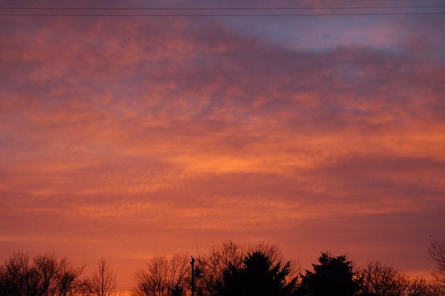 03-31-10 - Beautiful Nebraska Sunset!