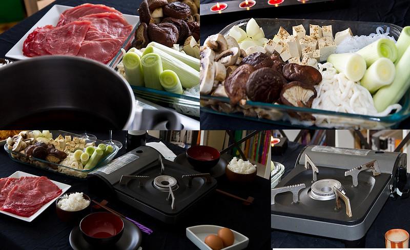Pasos para preparar sukiyaki