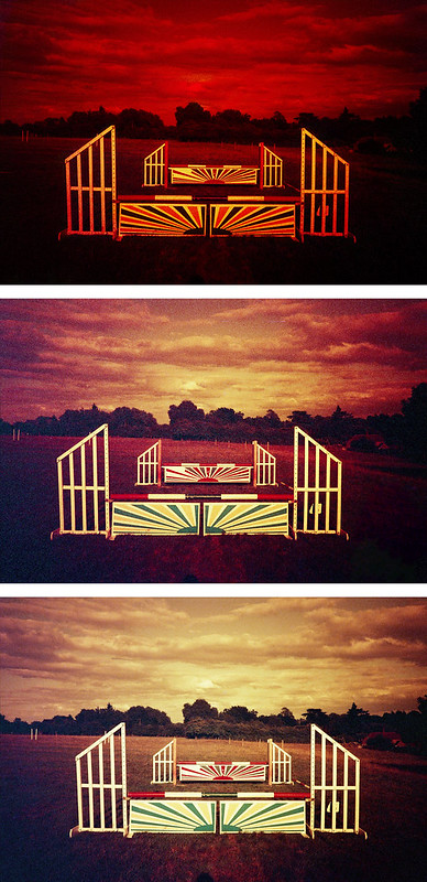 redscale exposure tests
