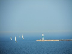 sailboats on Lake Michigan | by The Shifted Librarian