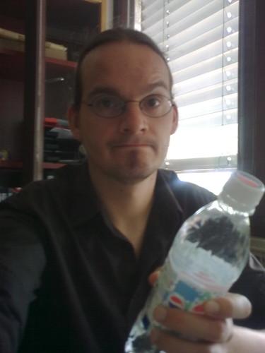 Water bottle is my friend