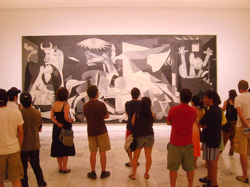 Impressed by Guernica