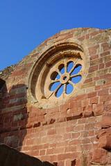Rosassa, esglesia vella d'Alcover, Tarragona by Angela Llop