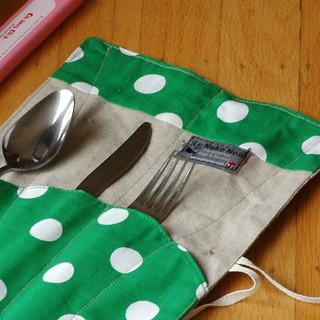 Linen Utensil Burrito   by femmeannie