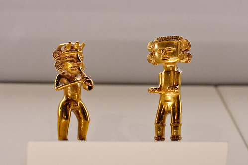 Figures at the Pre-Columbian Gold Museum | by ToastyKen