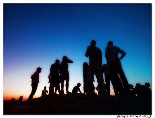 city blue light sunset sky people art colors beautiful silhouette wonderful photography artistic scenic athens jordan bleu romantic lightning backsight
