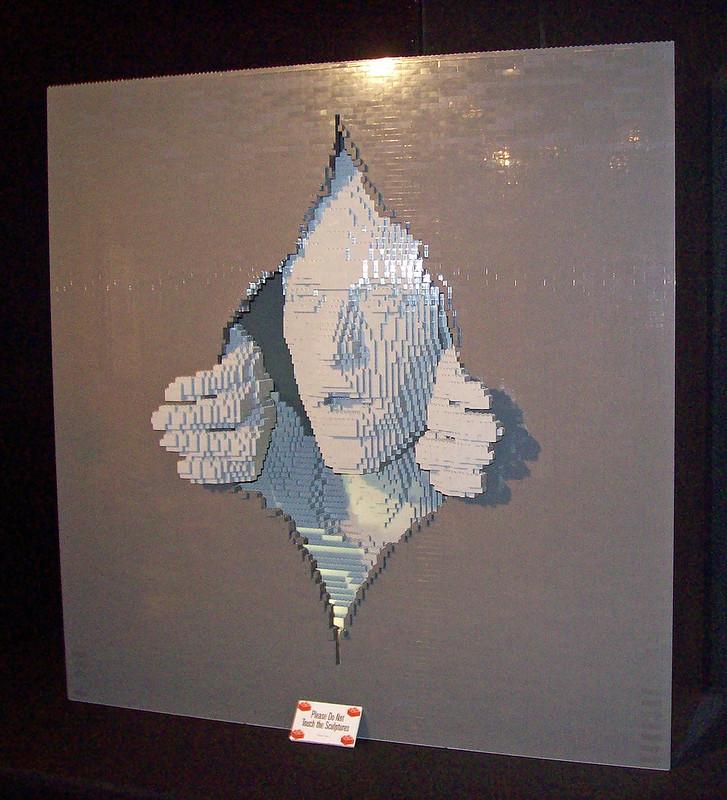 LEGO art exhibit