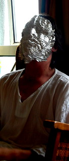 The Man In The Tinfoil Mask | by clive.b