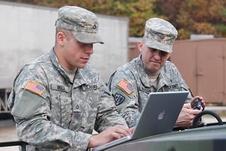 One man public affairs shop | by The U.S. Army