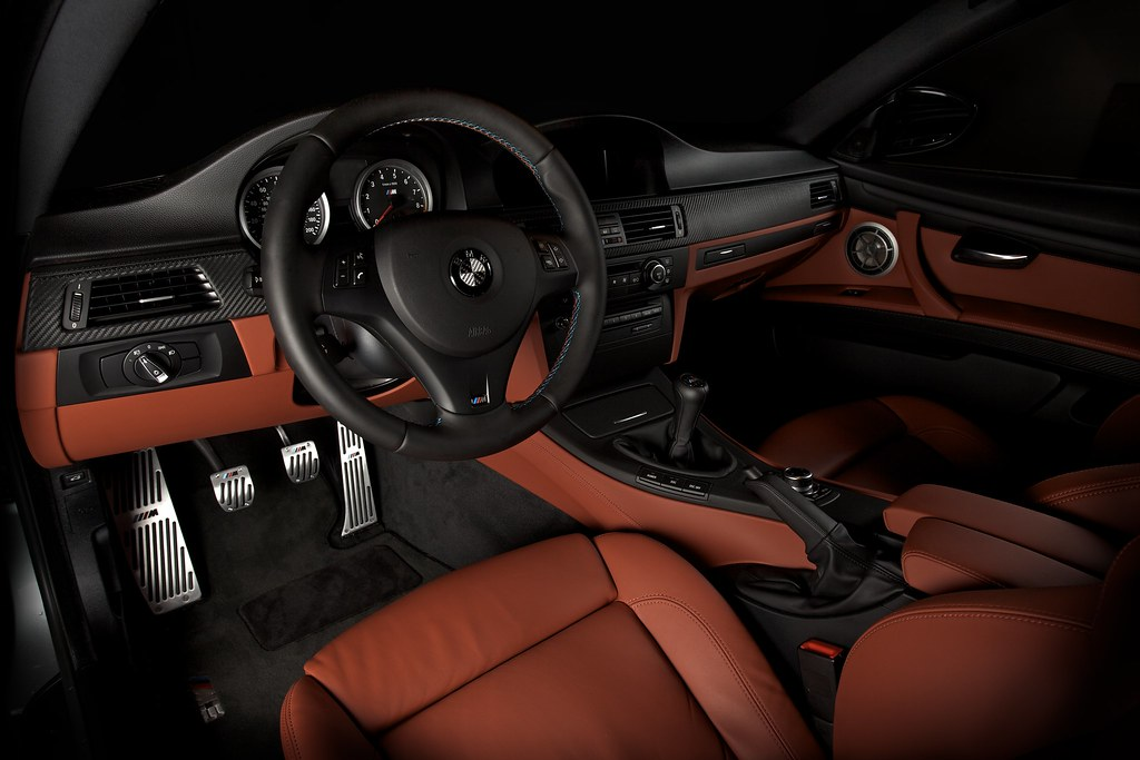 2009 E92 M3 Fox Red Extended Interior with Aluminum ///M Pedals Installed by kloh