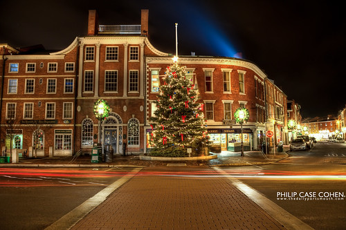 It's Christmas in Portsmouth by Philip Case Cohen