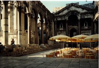 Split Diocletian's Cafe