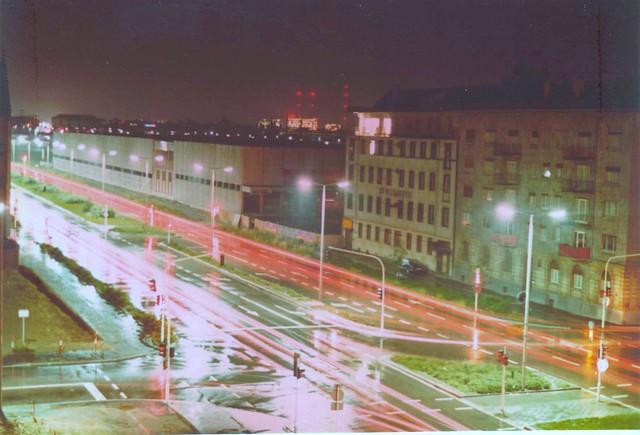 1972 - Blick aus unserm Fenster auf die (noch) Große Merzelstr.