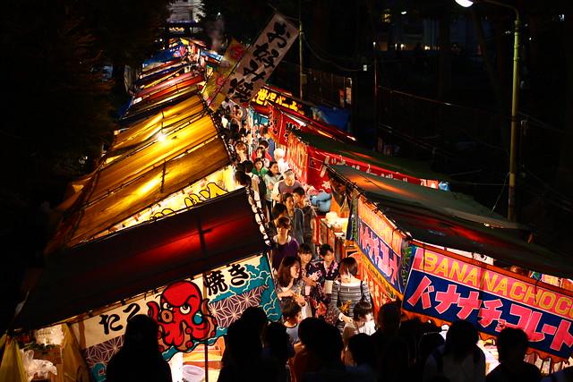 渋谷 氷川神社 お祭り