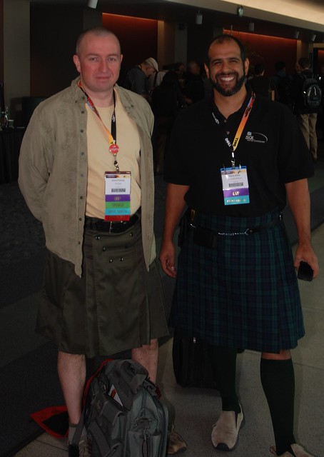 Kilt day at Sqlpass