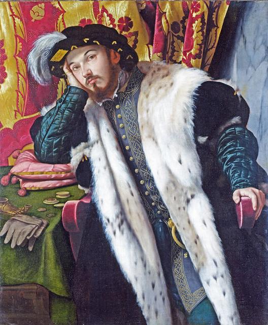 Moretto da Brescia: Portrait of a young man (1542?)