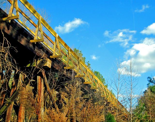 Peak, SC Railroad Trestle