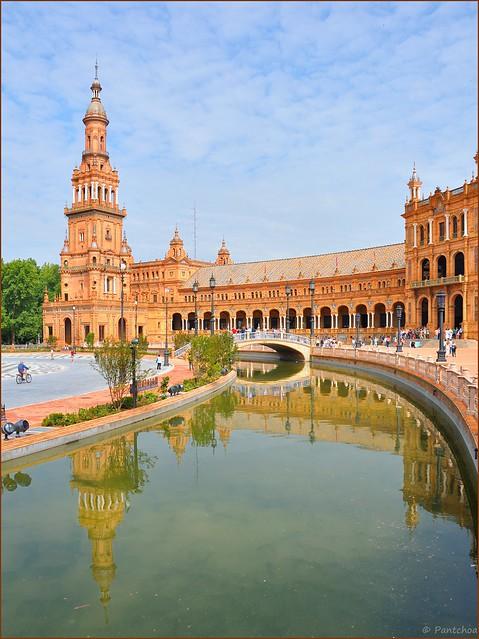 Sevilla :  Plaza de España  - 3 -