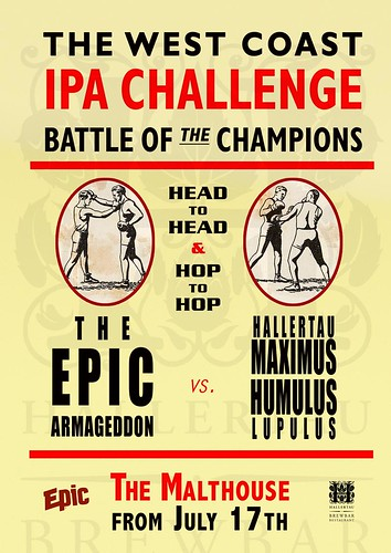 West Coast IPA Challenge Poster | by epicbeer