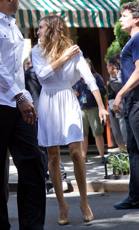 """Sarah Jessica Parker on the set of """"Sex and the City II"""""""