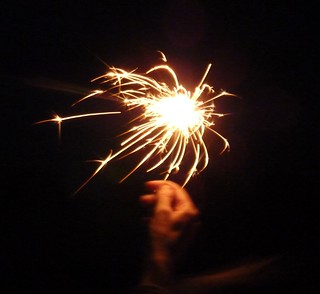 Sparklers | by cathredfern