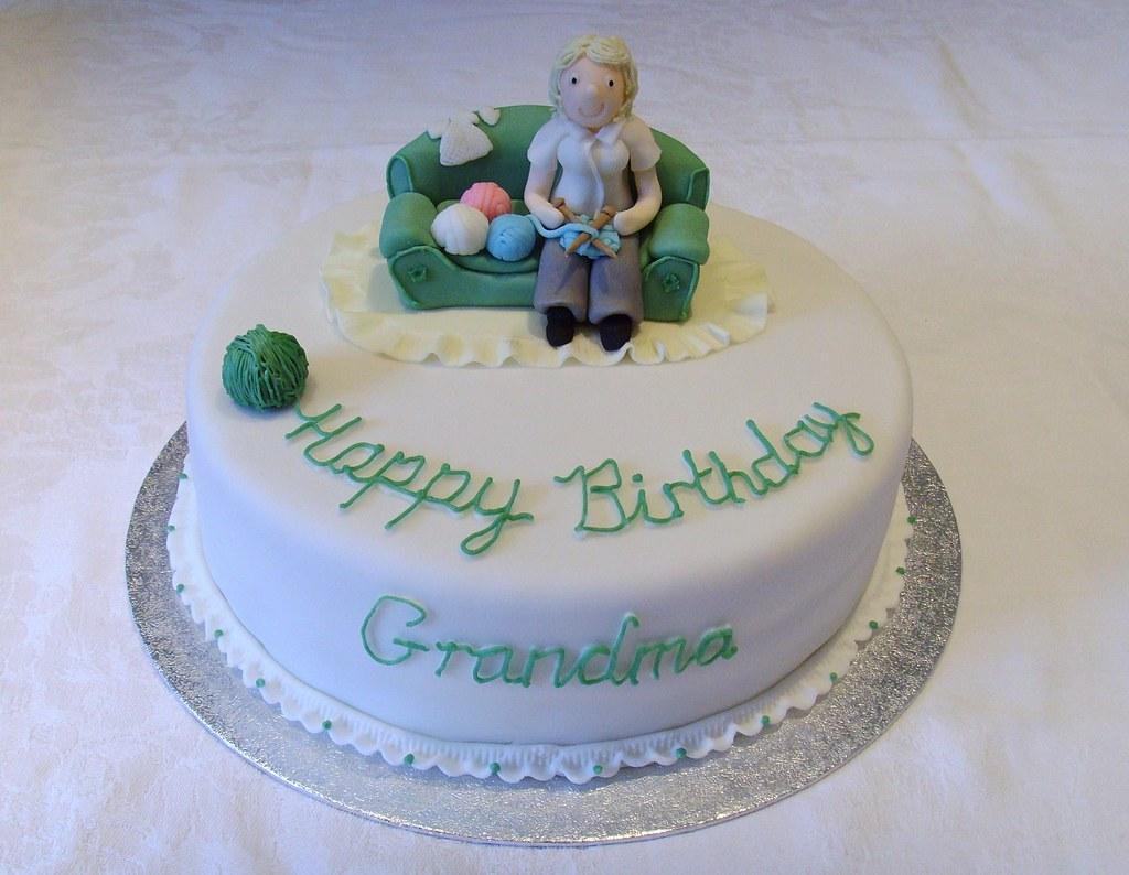 Fine 60Th Birthday Cake 8 Round Chocolate Sponge With Grandma Personalised Birthday Cards Bromeletsinfo