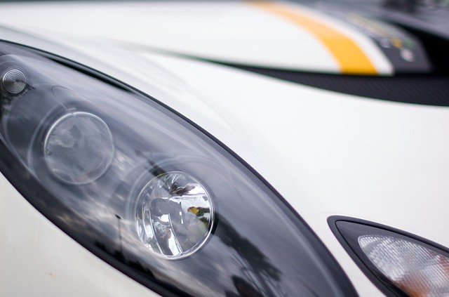 Exige lights, detail